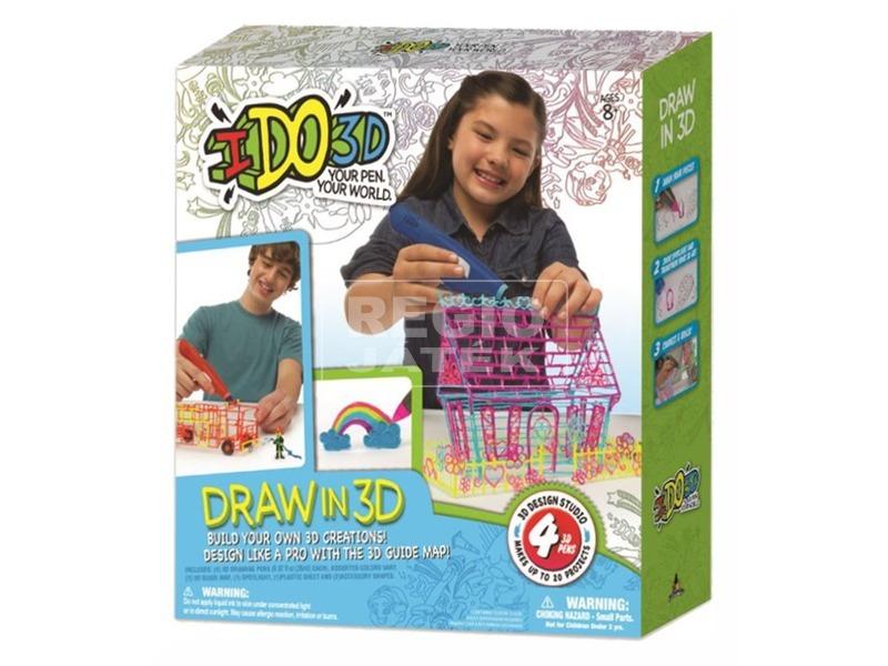 I Do 3D 4 darabos készlet - többféle
