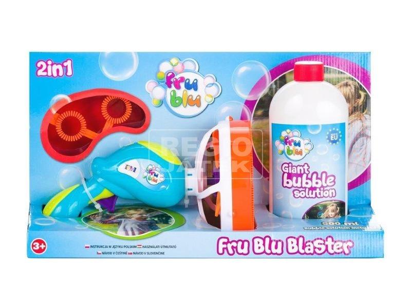 Frublu buborék ágyú