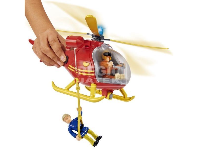 kép nagyítása Tűzoltó Sam Wallaby helikopter Thomas figurával