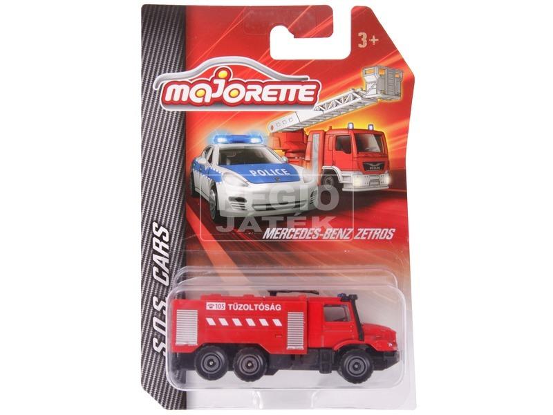 S. O. S. fém mentő kisautó - 7 cm, többféle