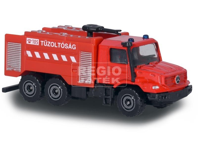 kép nagyítása S. O. S. fém mentő kisautó - 7 cm, többféle