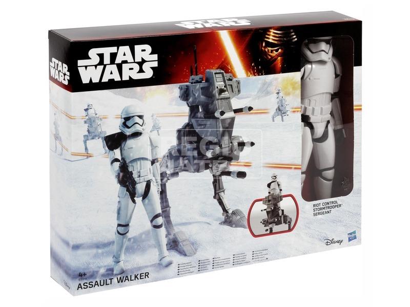 Star Wars: Az ébredő Erő figura járművel - 30 cm