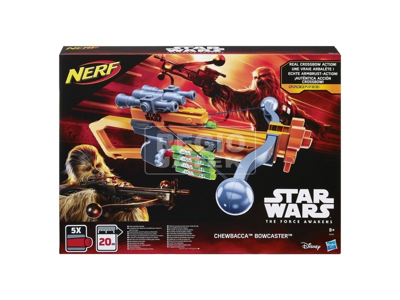 Star Wars: NERF Chewbacca szivacslövő fegyver