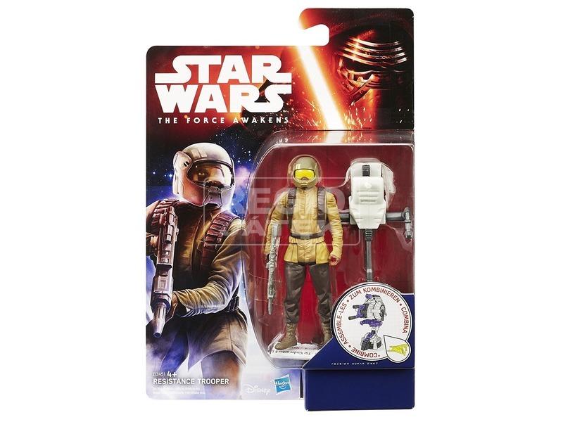 Star Wars: dzsungelharcos figura - 10 cm, többféle