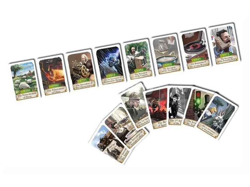 kép nagyítása Timeline Általános ismeretek kártyajáték