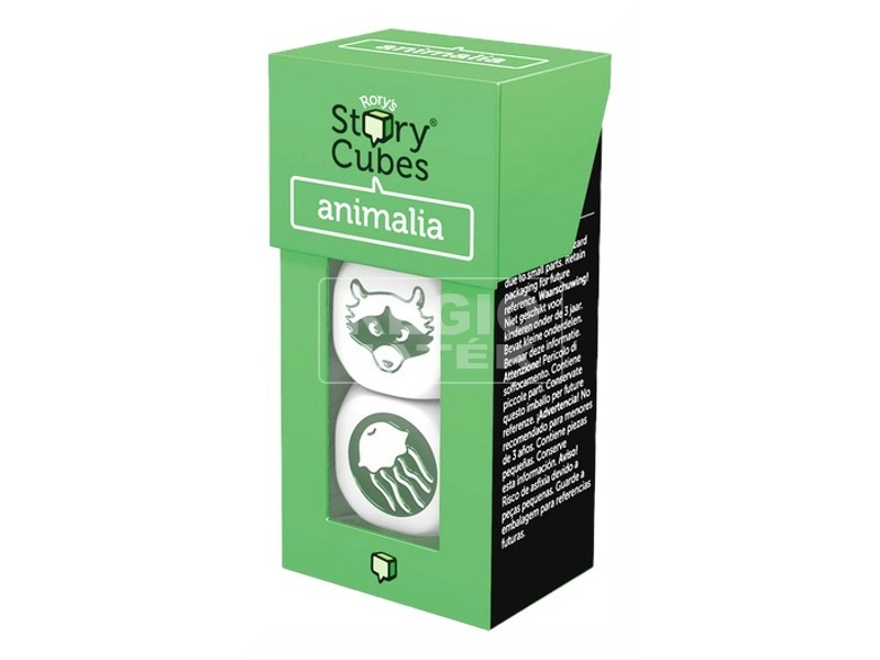 Sztorikocka Animalia társasjáték