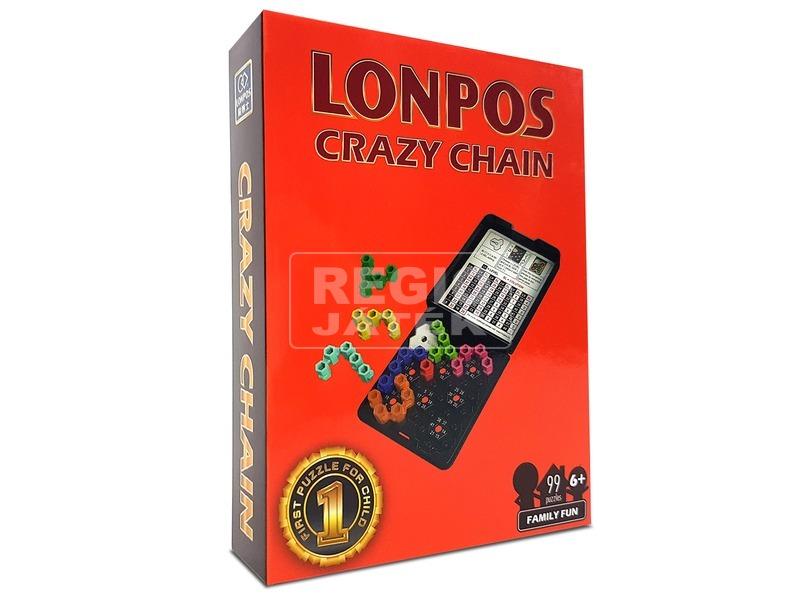 Lonpos 99 Crazy Chain oktató, logikai játék