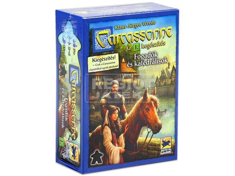 Carcassonne fogadók és katedrálisok kiegészítő