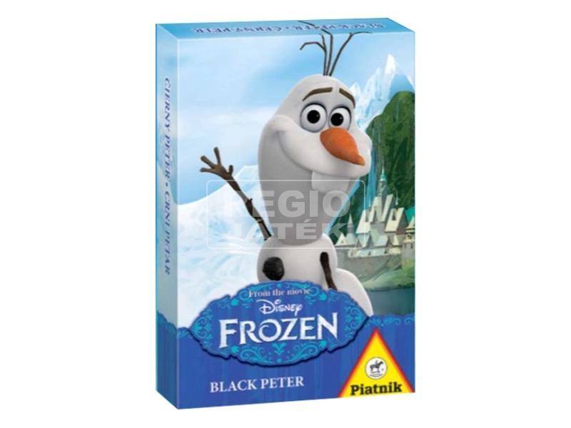 Jégvarázs Olaf Fekete Péter kártya