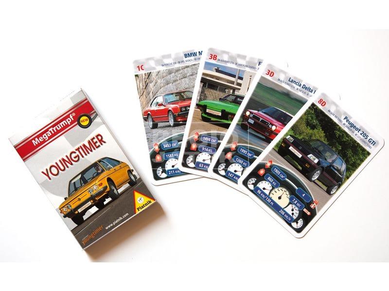 Youngtimer autók kártya