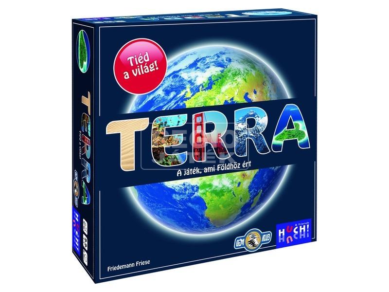 Terra kvíz társasjáték HUT