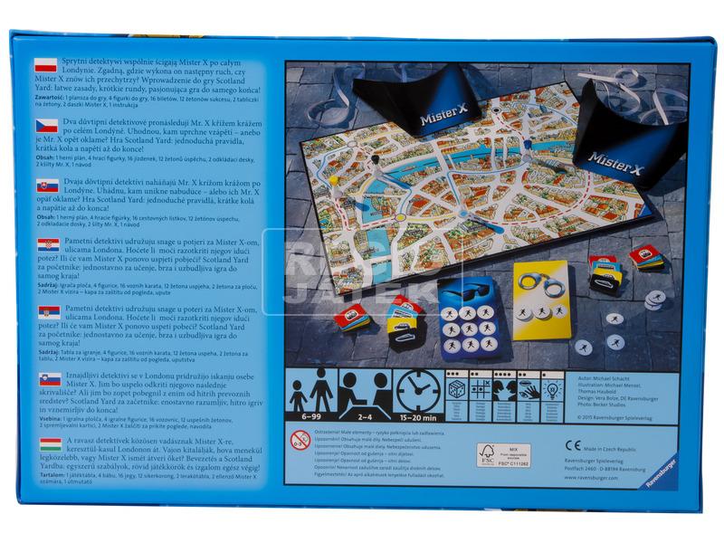 kép nagyítása Scotland Yard Junior társasjáték