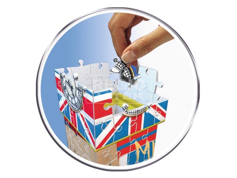 kép nagyítása Minion Big Ben 216 darabos 3D puzzle