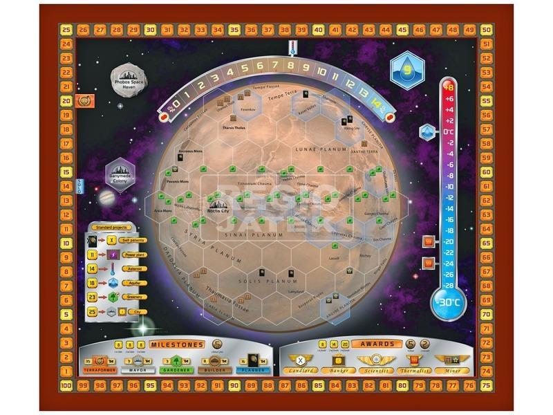 kép nagyítása A Mars terraformálása társasjáték