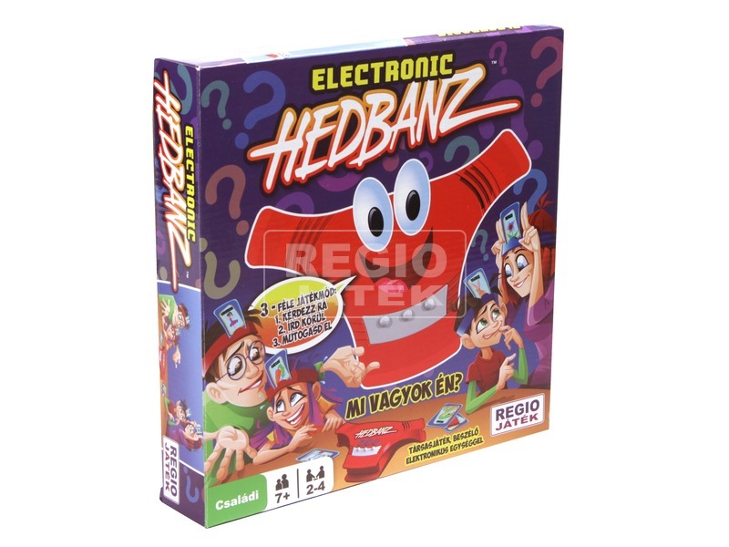 kép nagyítása Hedbanz elektronikus társasjáték