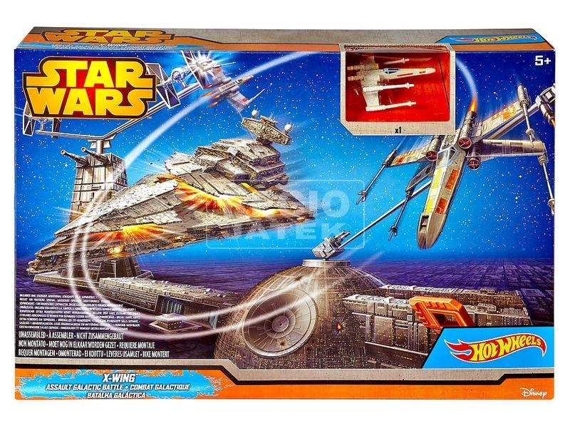 Hot Wheels Star Wars Csillagromboló csata készlet
