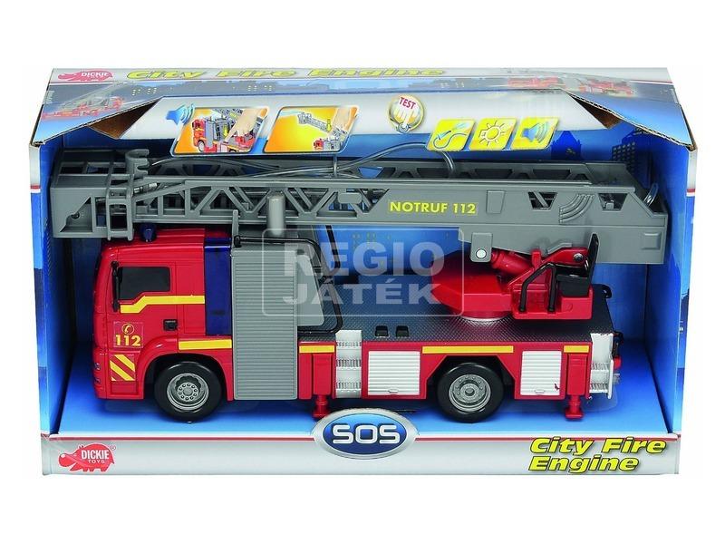 kép nagyítása Városi elemes tűzoltóautó - 31 cm
