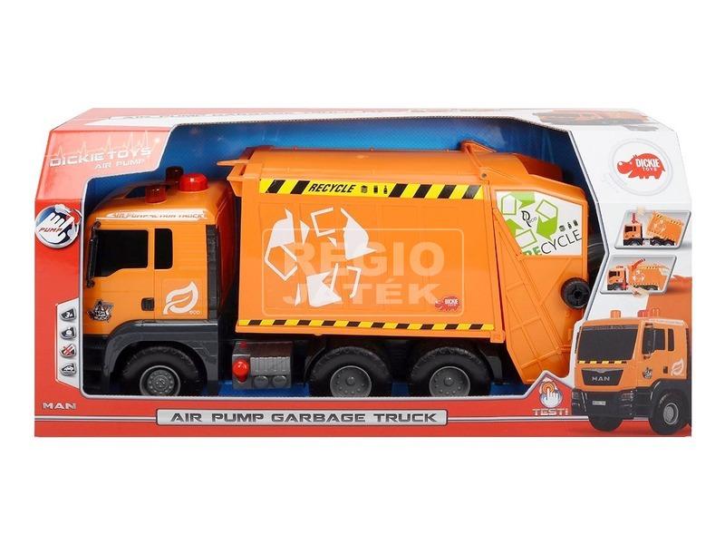 Pump Action Garbage Truck