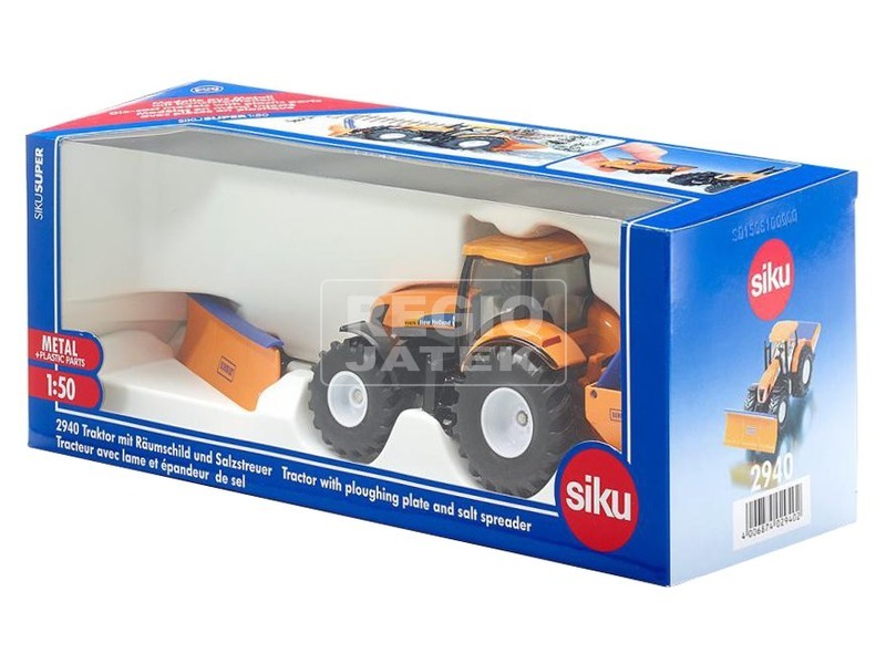 kép nagyítása Siku New Holland hókotró traktor 1:50 - 2940