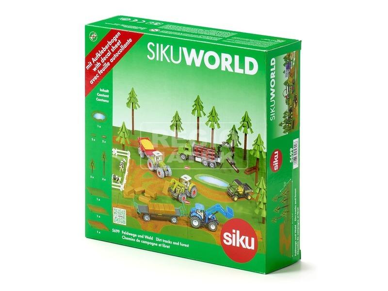 SIKU World kiegészítő erdő