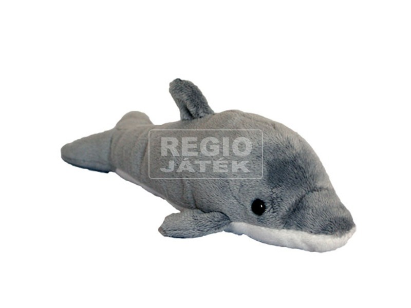 Delfin plüssfigura - 23 cm