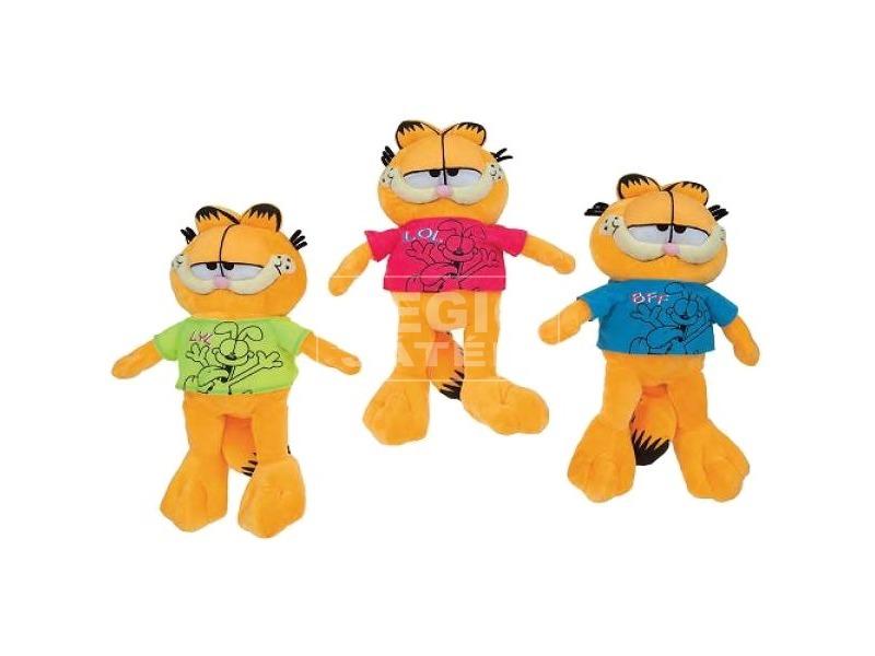 Garfield pólóban 35cm / PM
