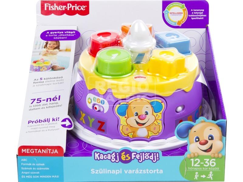 Fisher-Price szülinapi varázstorta bébijáték