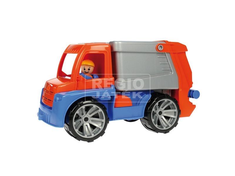 kép nagyítása Műanyag kukás autó - 28 cm
