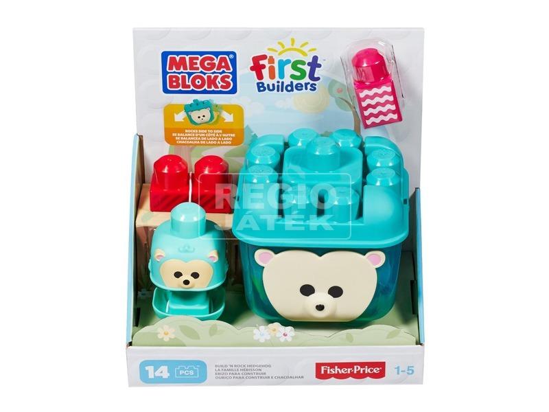 Mega Bloks jegesmedve tároló készlet