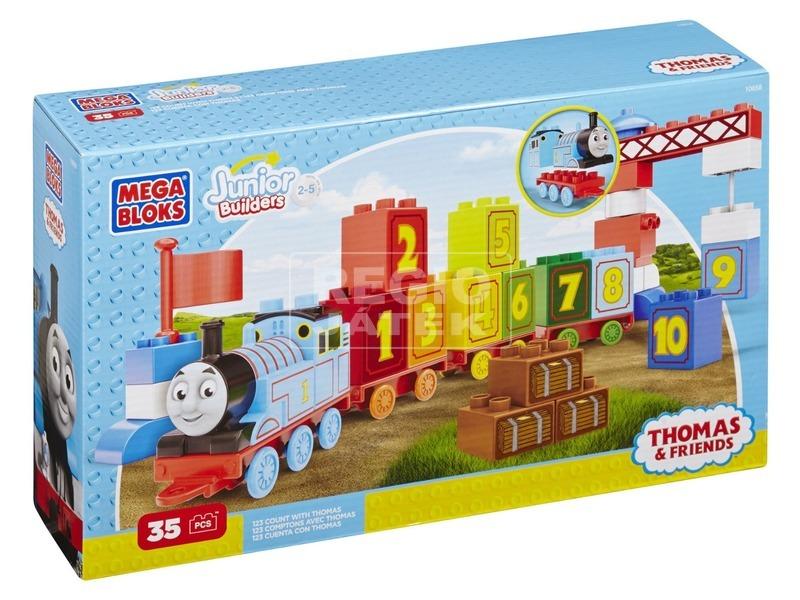 Mega Bloks Thomas 1-2-3 számvonat készlet