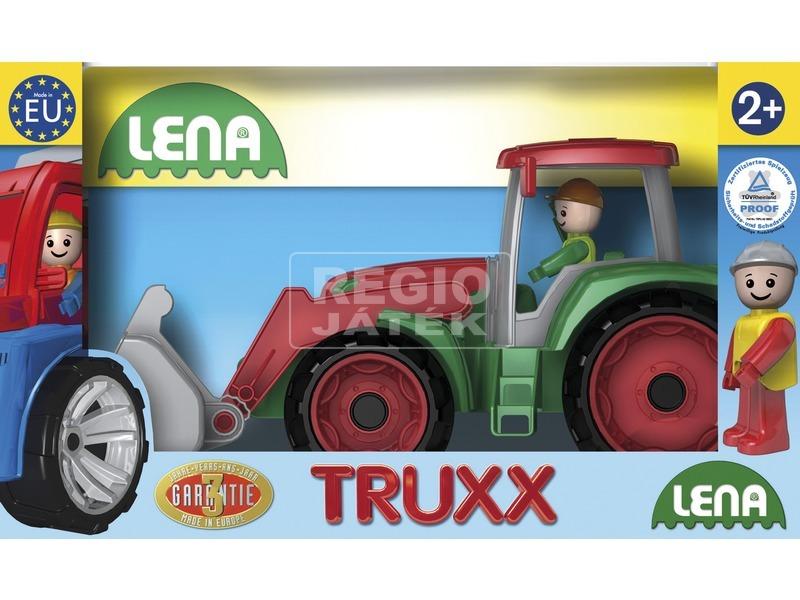 Műanyag traktor - 37 cm