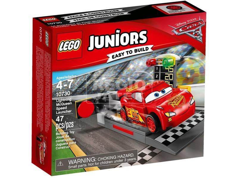 LEGO Juniors Villám McQueen kilövője 10730