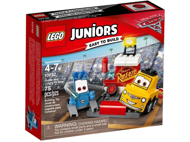 LEGO® Juniors Guido és Luigi boxutcája 10732