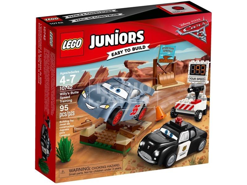 LEGO® Juniors Willy Butte kiképzője 10742