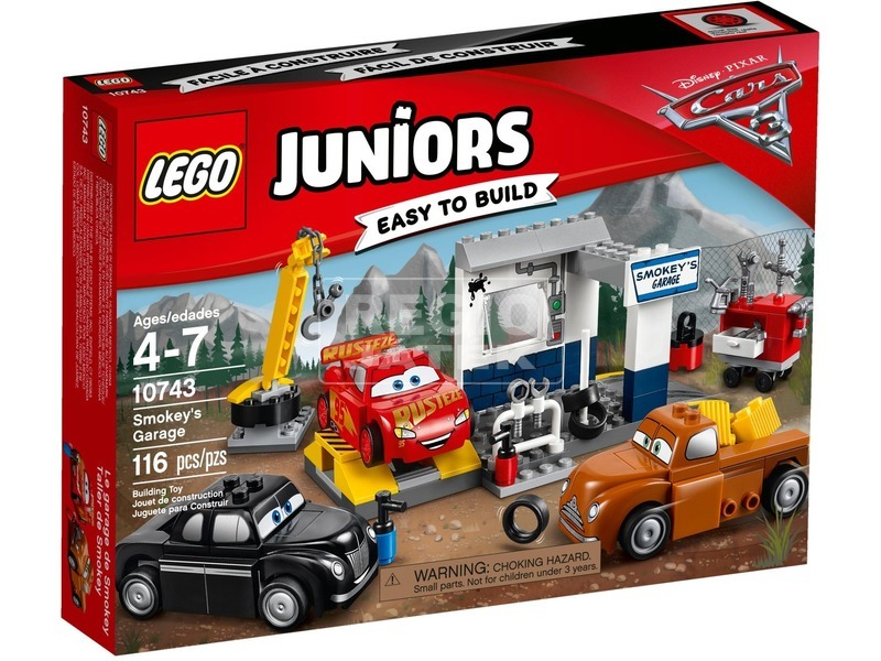 LEGO® Juniors Smokey garázsa 10743
