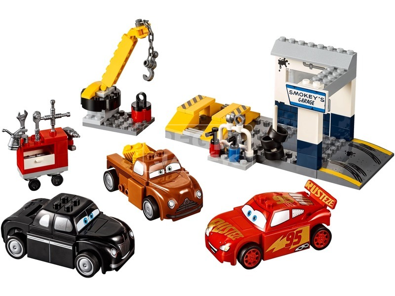 kép nagyítása LEGO® Juniors Smokey garázsa 10743