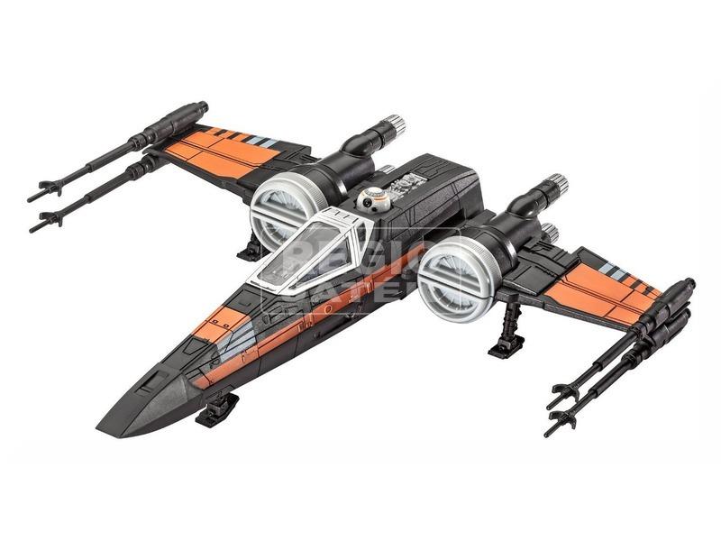 Star Wars: Poe X-Wing Fighter összerakható modell