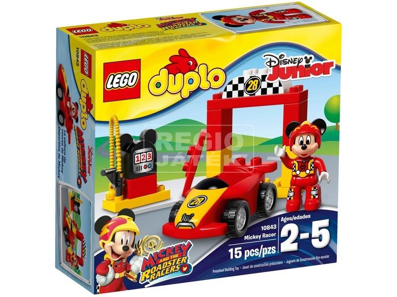 LEGO® DUPLO Disney Mikiegér versenyautója 10843