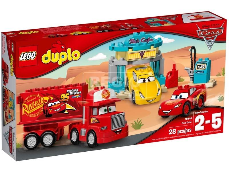 LEGO® DUPLO Verdák Tőti kávézója 10846