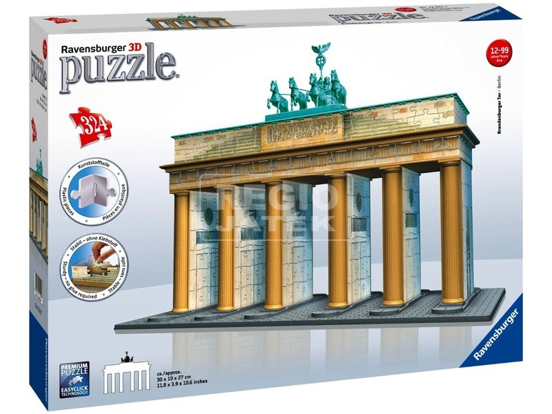 kép nagyítása Brandenburgi kapu 324 darabos 3D puzzle