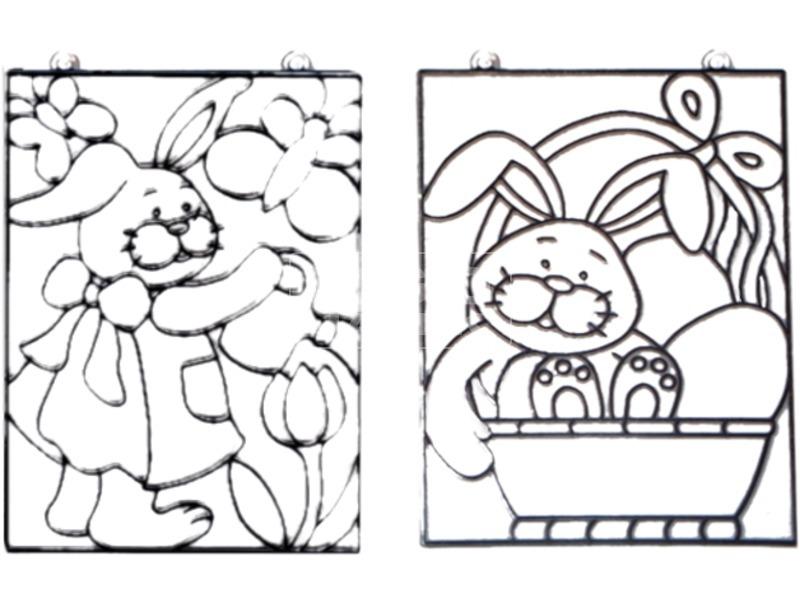 Húsvéti ablakmatrica - többféle