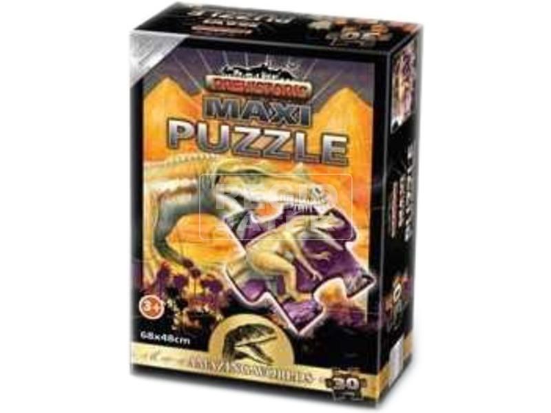 Őslények 30 darabos maxi puzzle