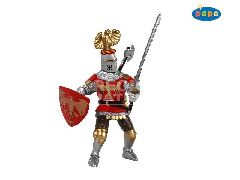 Papo vörös lovag fegyverekkel 39361