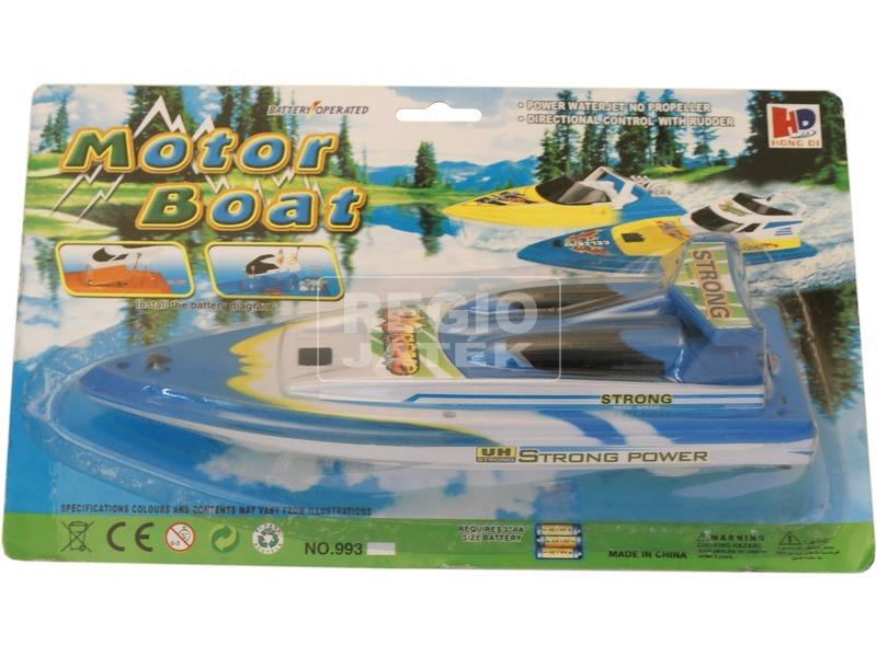 kép nagyítása Speed Boat elemes motorcsónak - 30 cm