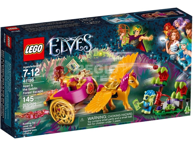 LEGO® Elves Azari és a manóerdei szökés 41186