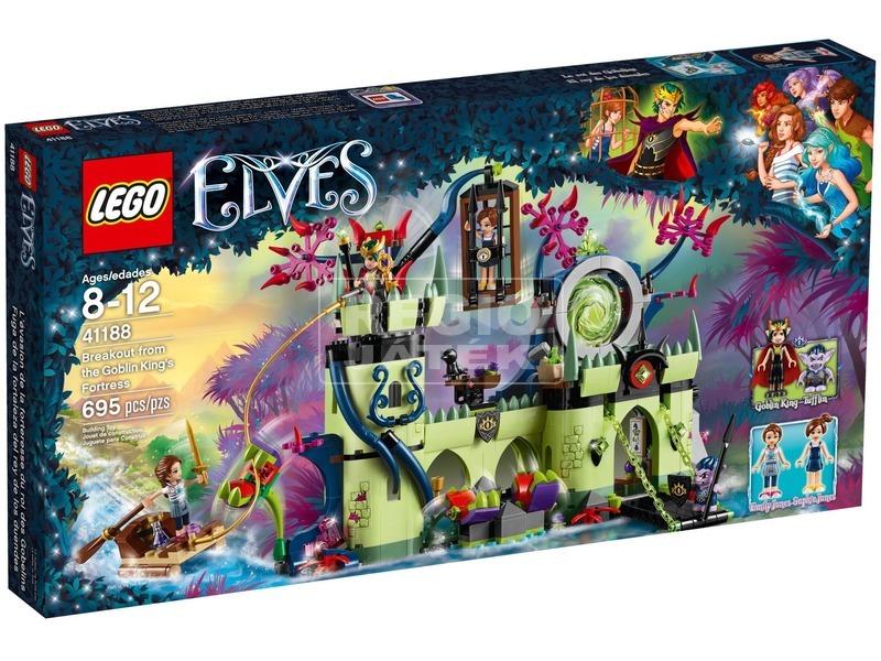 LEGO® Elves Kitörés a Manókirály erődjéből 41188