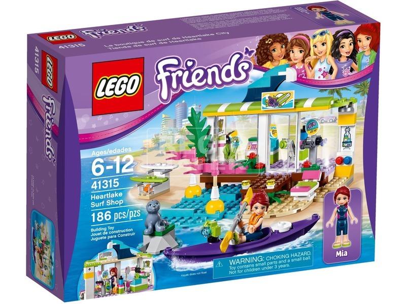 LEGO® Friends Heartlake szörfkereskedés 41315