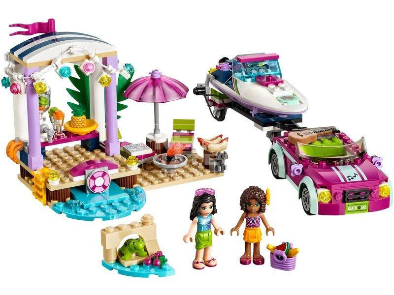 kép nagyítása LEGO® Friends Andrea motorcsónak szállítója 41316