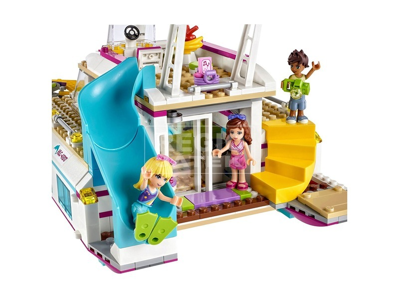 kép nagyítása LEGO® Friends Napsütötte katamarán 41317