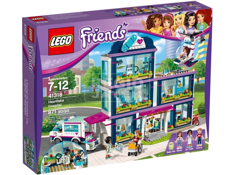 LEGO® Friends Heartlake kórház 41318